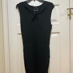 INC Black Form-Fitting Dress